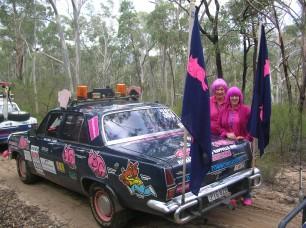 2006 Bash Car 333 Brookvale to Bundaberg - Sallymae Bailey and Cassie Buckley