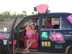 2007 Bash Zara Camp from Floraville Qld with balloon giveaways