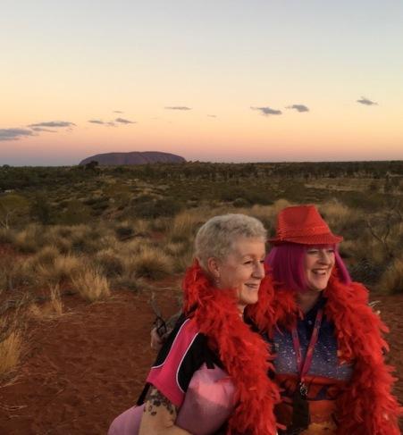 Bash 2018 Red Day Uluru Sunset